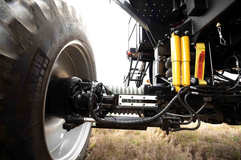 Variable Track Axle System
