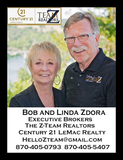 If you are thinking of Relocating to the Beautiful Ozarks, Bob and Linda look forward to helping you!