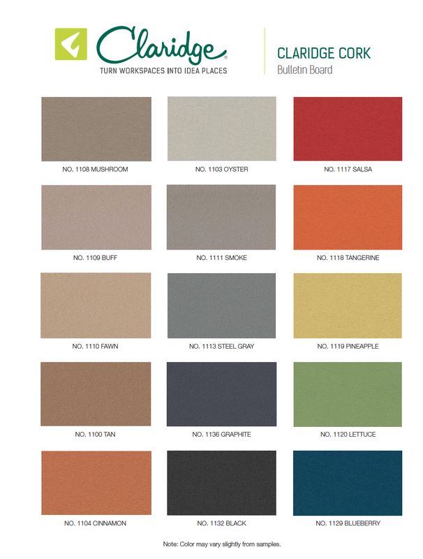 Claridge Cork Color Options