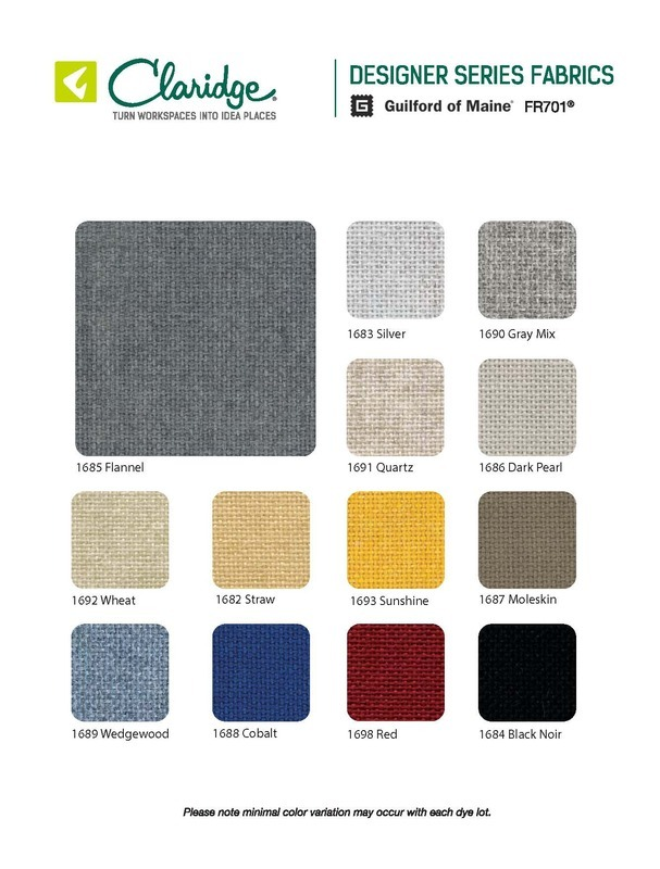 Design Series Fabric Options