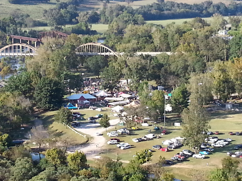 EVENTS ARE HELD AT COTTER BIG SPRING PARK