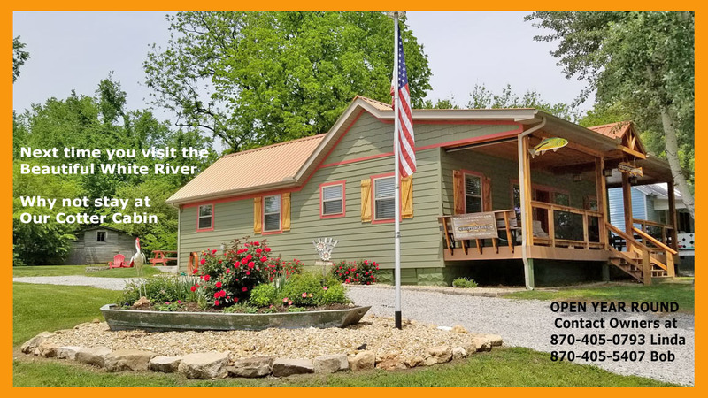 STAY AT OUR COTTER CABIN CONTACT US FOR MORE INFORMATION