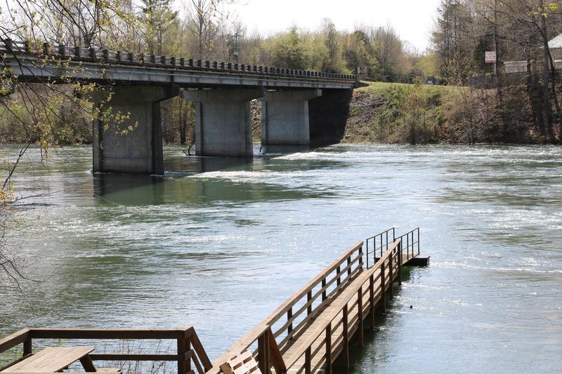 4-1-19/ 9,500cfs Little Red River