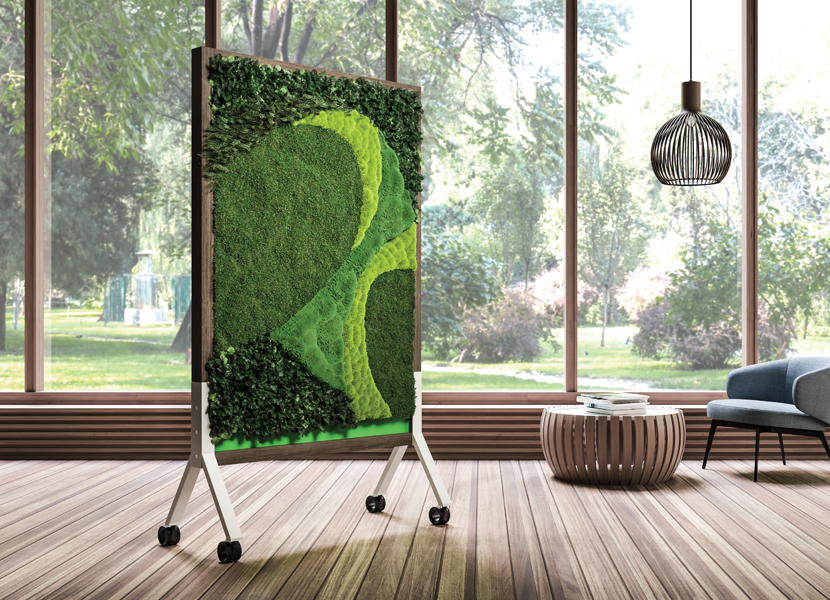 MIX Biophilic Panels - All Natural Preserved Plants on Mobiles