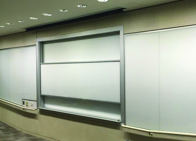 Vertical Sliding Units - Glass Markerboards