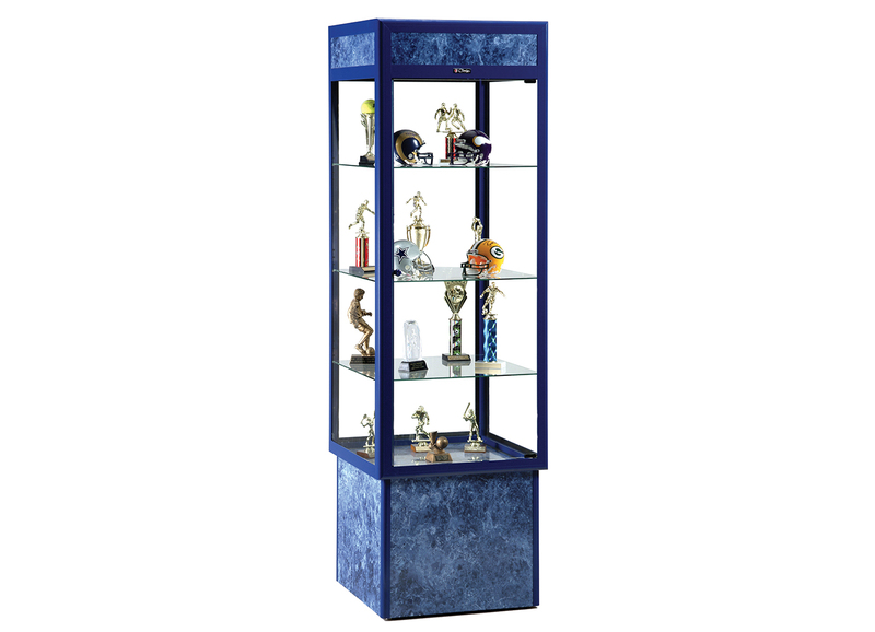 1452 NOUVEAU SERIES DISPLAY CASE