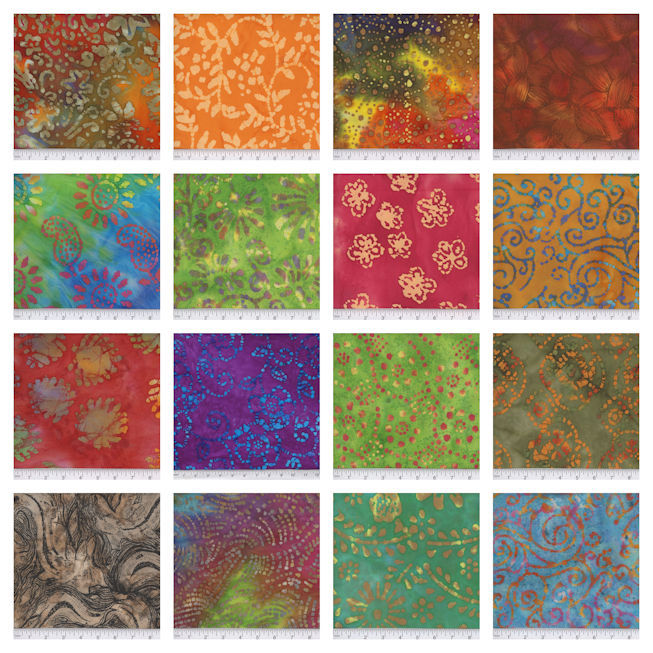 New Quilters Batiks!!!!!!!!