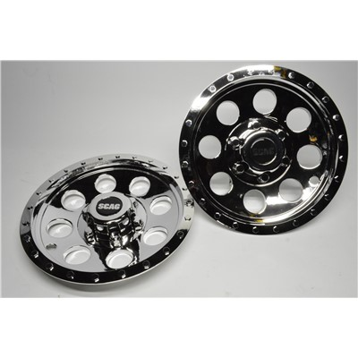 WC12 Chrome Wheel Cover - 12