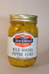 Mild Banana Pepper Rings