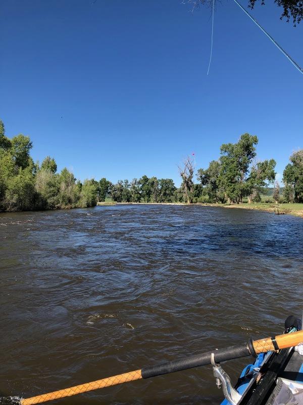 The Elk River, Steamboat, Colorado.