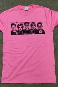 Safety Pink Mugshot Tee