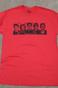 Red Mugshot Tee