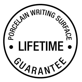 Porcelain Writing Surface Guarantee