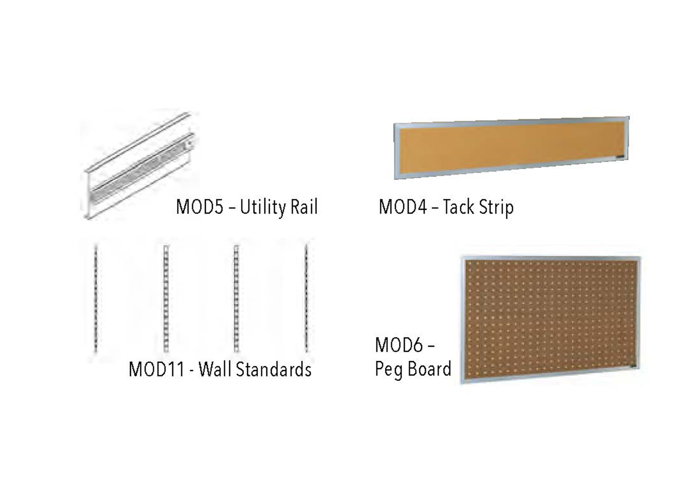 MODULAR BOARDS & WALL STANDARDS
