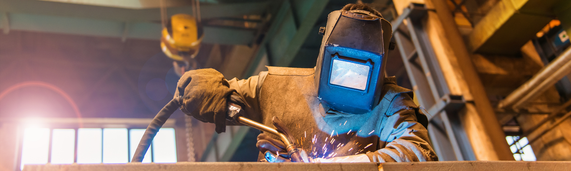 Welding Technology - Gas Metal Arc (MIG)  Background Pic