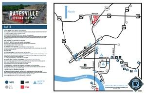 Batesville Destination Map