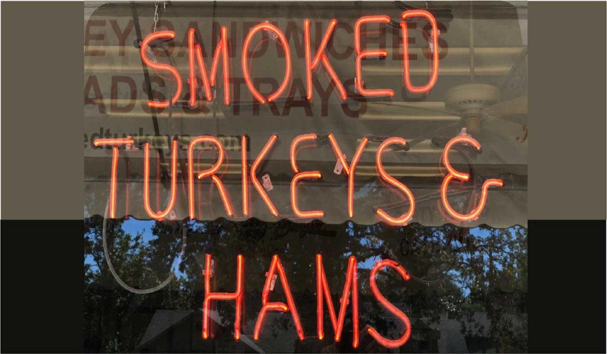 Burge's Hickory Smoked Turkeys & Hams