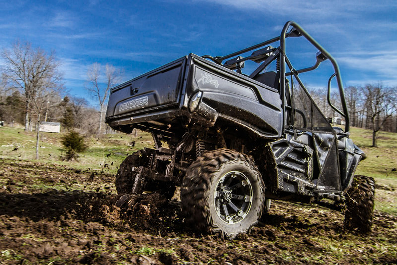 GroundHog Max in Action with an Intimidator UTV