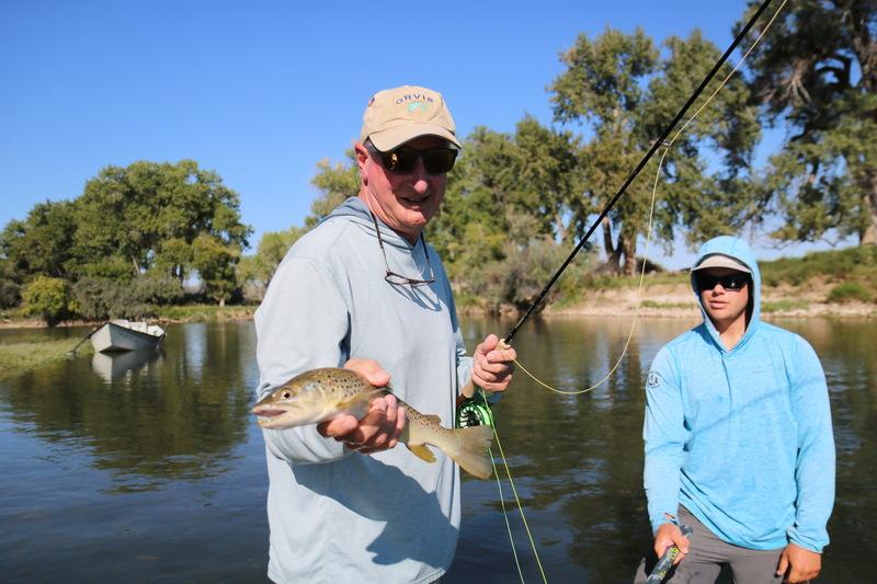 Tom Hawthorne, The Ozark Angler, Big Horn River, Mt