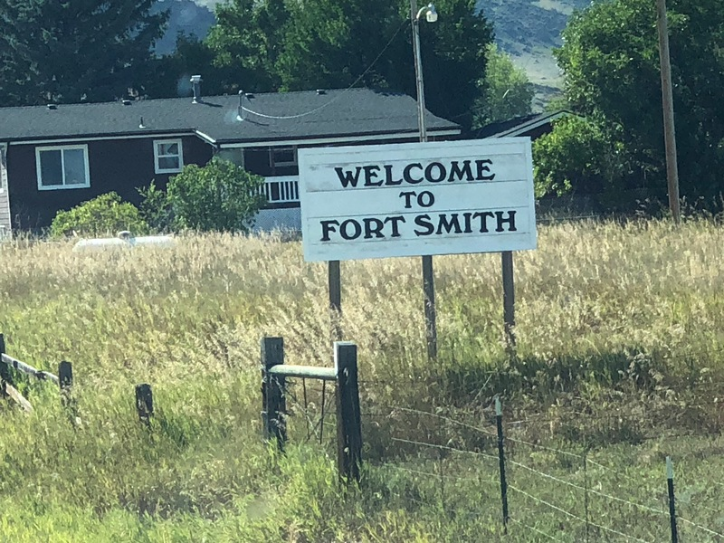 The other Fort Smith, Montana