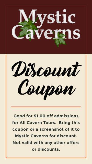 Mystic Caverns Discount Coupon
