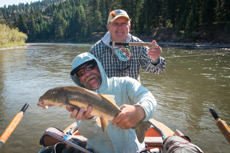 Blackfoot River Mountain Sucker/ Guide Travis Craft