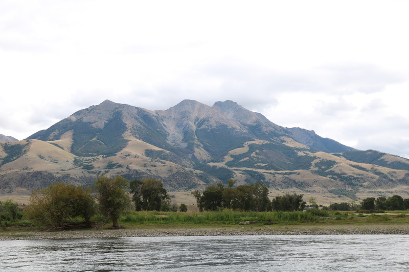 Emigrant Peak in the Paradise Valley, Montana