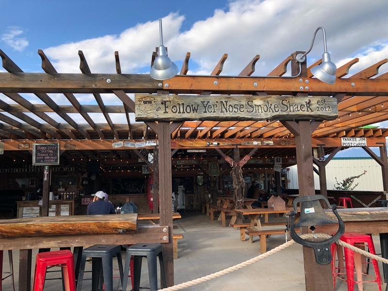 Amazing brisket in Emigrant, Montana