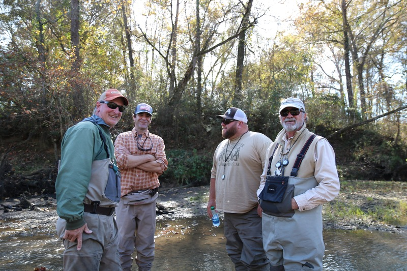 Scruffy fly fishing guides.