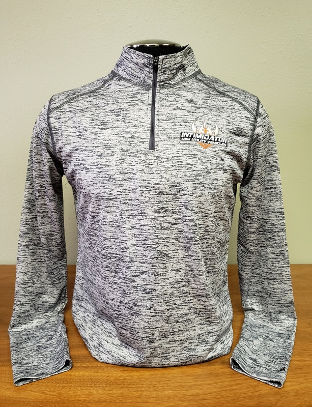 SPARTAN DIGITAL 1/4 ZIP - GREY (MEN'S)