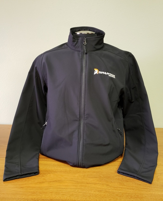 SPARTAN SOFT SHELL JACKET - BLACK (MEN'S)