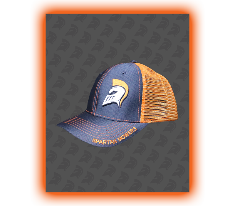 SPARTAN SNAPBACK - ORANGE/GRAY
