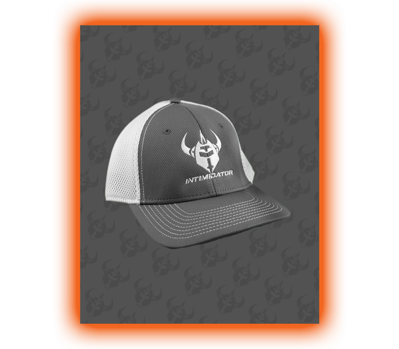 INTIMIDATOR FLEX CAP - GRAY/WHITE