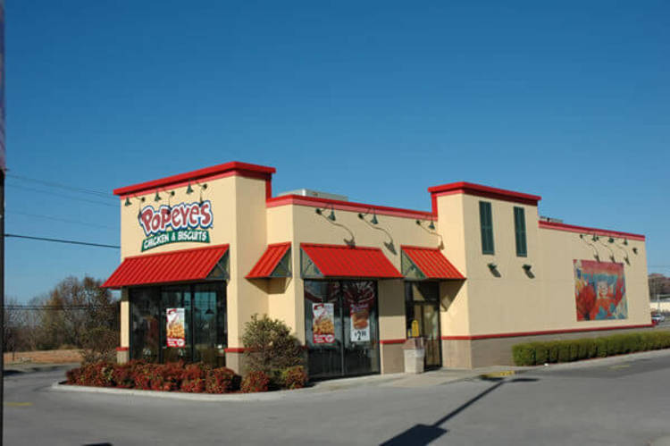 Popeyes in Mountain Home and Harrison, AR
