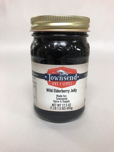 WILD ELDERBERRY JELLY