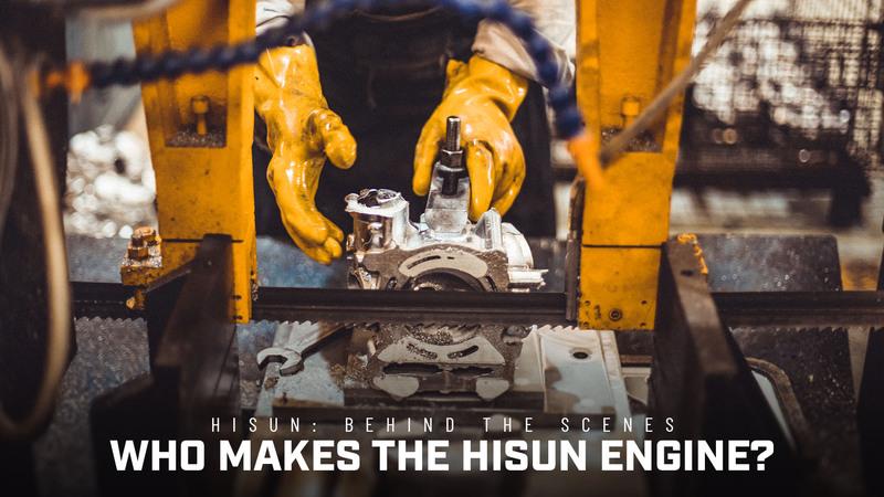 Qui fabrique le moteur HISUN?