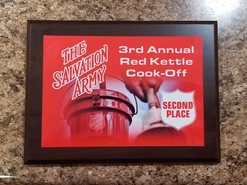 Salvation Army Kettle Cook Off - November