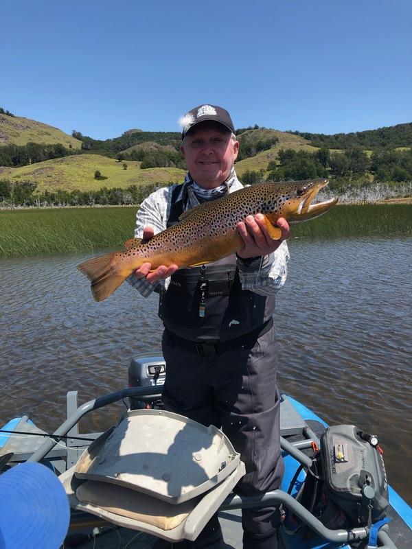 Lake Junco sight fishing.
