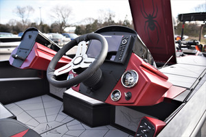 Crimson Metallic Console, Bow Panel, and Side Panel with Matte Finish