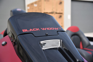 Black Widow<sup>™</sup>Windshield Badging