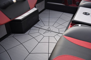 Custom EVA Rubber Flooring with Web Pattern