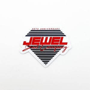 Jewel 30th Anniversary Logo Sticker