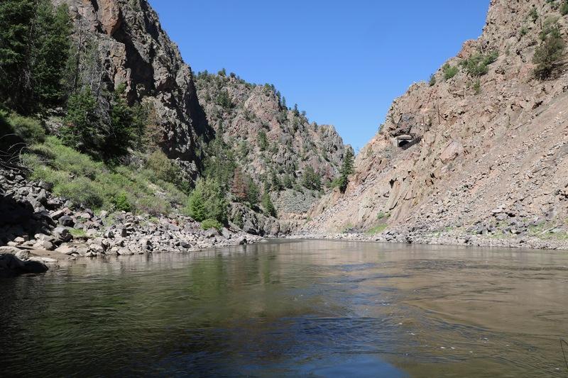 Little Gore Canyon on the Colorado River.