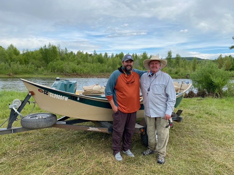 Take out on the Yampa River