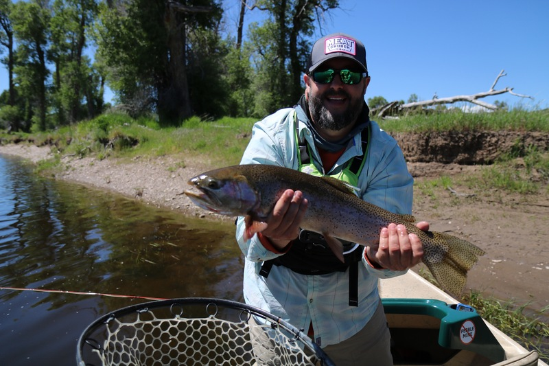 Trent with a great Yampa Cutthroat