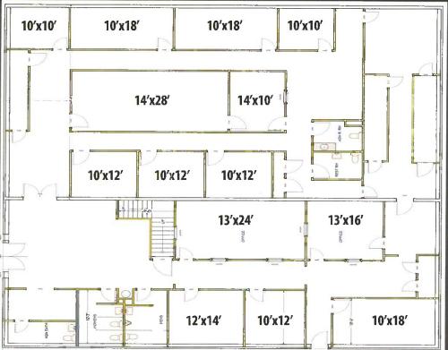 Leisure Homes Business Center Floor Plan