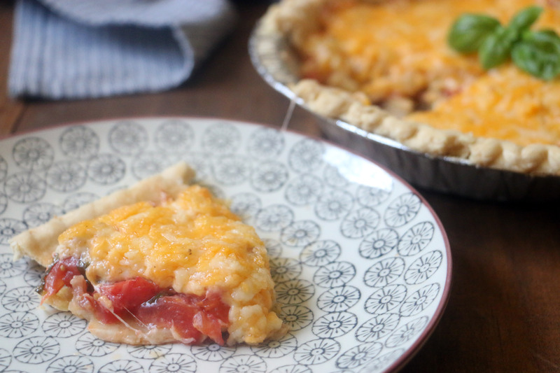 Bacon Tomato Pie
