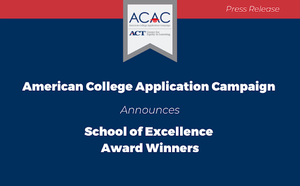 Mountain Home High School's College and Career Coach Program Named Arkansas School of Excellence Award Winner in American College Application Campaign