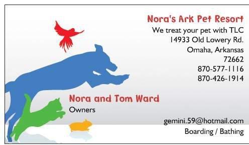 Nora's Ark Pet Resort
