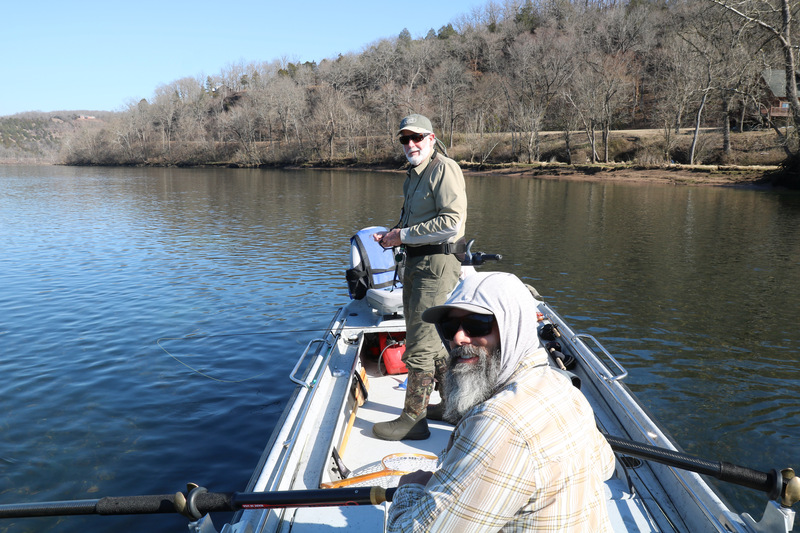 Friends and great guides Tom Gazaway and David Hudson.